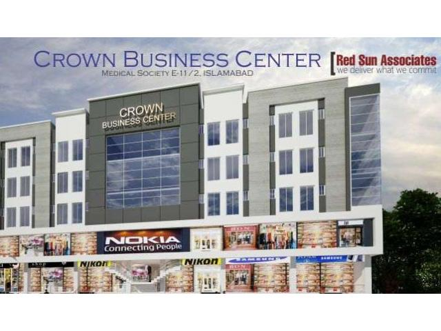 Shop for sale in Crown business centre E-11 Islamabad