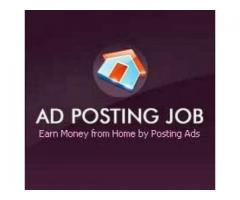 Ads Posting Jobs Available for Both Male/Female
