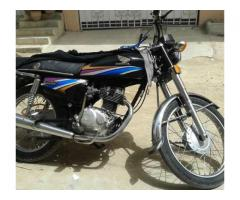 Black Honda 125 for Sale in Karachi