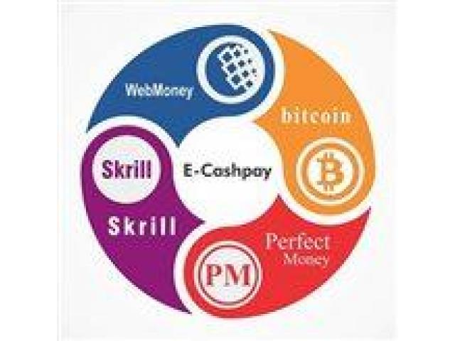 Cash out Skrill, Perfect money, Webmoney, Bitcoin in Pakistan.