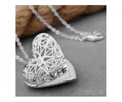 Beautiful Necklace In Heart Shape Artificial Jewelry For Sale Cash On Delivery