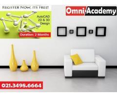 """Auto-CAD 2D / 3D"""" -Two Months training program"""