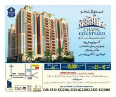 Chapal Courtyard Apartments Karachi Booking Details Apartments On Installments