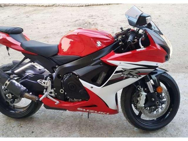 Suzuki Gsxr 600 Model 2013 Heavy Bike Red Color For Sale ...