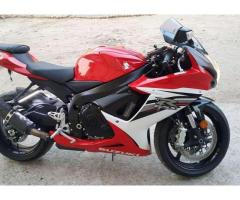 Suzuki Gsxr 600 Model 2013 Heavy Bike Red Color For Sale In Gujrat