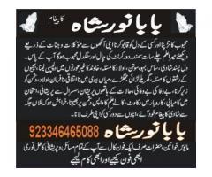 Aamil baba noor shah  ,Online wazifa  online amilyaat  +923346465088