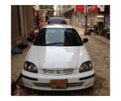 Honda Civic EXI White Color Model 1996 Scratch Less Body For Sale In Karachi