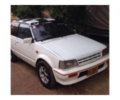 Daihatsu Car Like Mehran White Color Original Engine Sale In Karachi