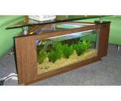 Corner Aquarium Table Delivery Available In Islamabad And Rawalpindi