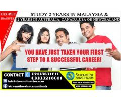 Get 4 Years Bachelor Degree In  Business & Hospitality