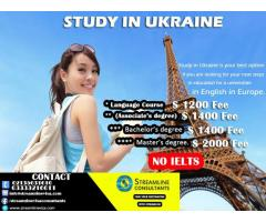 Study in Ukraine Low tuition fee | consultants in karachi