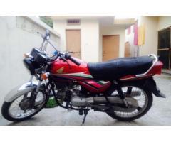 Honda CD 100 Model 2012 Red Color In New Condition For Sale In Mirpur