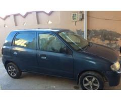 Suzuki Alto VXR Model 2007 Blue Color Genuine Body For Sale In Sialkot