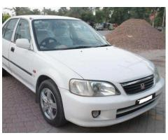 Honda City White Color Model 2003 Luxury Car Available For Sale In Lahore