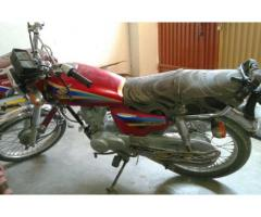 Honda 125 Red Color Model 2004 Powerful Engine For Sal In Rahimyar Khan