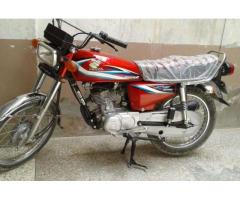 Honda 125 cc almost New Bike Model 2014 For Sale In Quetta