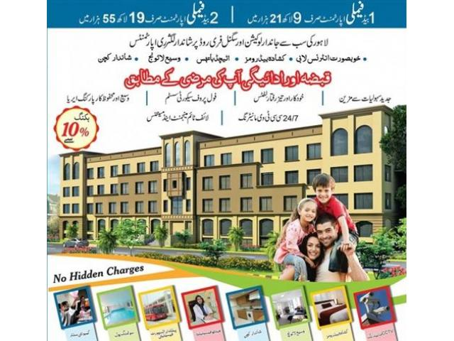 Dewan Residencia Lahore Payment Schedule Apartments On Installments