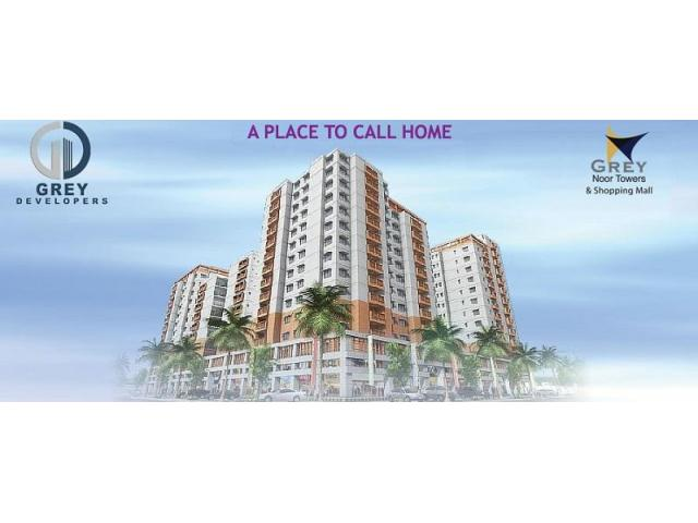 Grey Noor Tower Karachi Payment Schedule Apartments And S On Installments