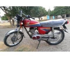 Honda 125 Model 2011 Red Color Almost New Condition For Sale In Quetta