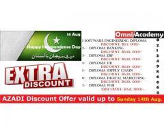 AZADI Discount Offer 14 August,2016!
