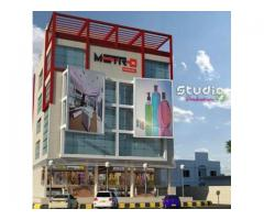 4 kanal Commercial Building In Gulberg MM Alam Lahore Available For Sale