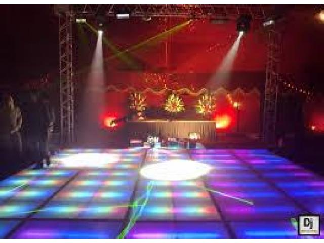 Disco Lights Dancing Floors DJ Services Available In Lahore Reasonable Rates