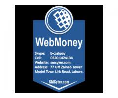 Sell your webmoney (WM) in Pakistan (Skype id: E-cashpay)