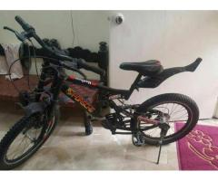 Sports Bicycle With Gears Black Color New Condition For Sale In Karachi