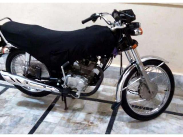 honda cg 125 model 2014 black cover installed almost new sale in rh localads pk Honda 125 Motorcycle Performance Muffler for Honda CG 125