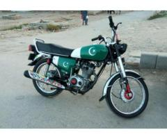 Honda 125 Euro 2 Model 2015 With Powerful Engine For Sale in Islamabad