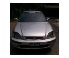 Honda Civic Original Engine Model 1997 Silver Color For Sale in Islamabad