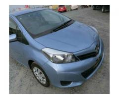 Toyota Vitz Model 2013 Blue Color Ist Owner For Sale in Lahore