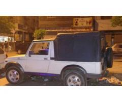 Suzuki Jeep Fully Maintained White Color Powerful Engine For Sale In Karachi
