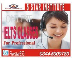 Online IELTS Classes for Professional and Get 7+ Band