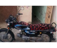 Unique Bike Like Cd 70 Black Color New Tyre Urgent Sale In Hyderabad
