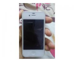 iPhone 4S Factory Unlocked White Color 16 GB For Sale In Karachi