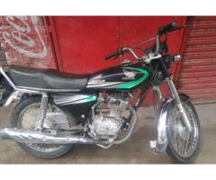 Honda Cg 125 Black Color Model 2014 Almost New For Sale in Muzaffarabad