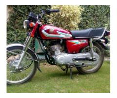 Honda 125 Red Color All Spare Parts Are Genuine For Sale In Peshawar