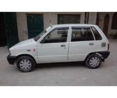 Suzuki Mehran 2004 Model fully Maintained White Color For Sale In Wah