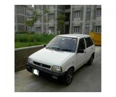 Suzuki Mehran White Color Powerful Engine Urgent Sale in Rawalpindi