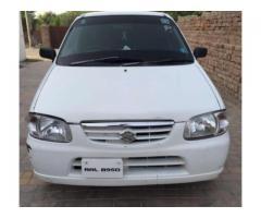 Suzuki Alto White Color 1000 cc Model 2006 Available for Sale In Bahawalpur