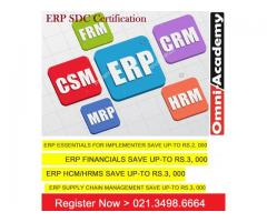 ERP SDC Certification