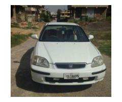 Honda Civic Genuine Engine White Color Model 1998 For Sale In Islamabad