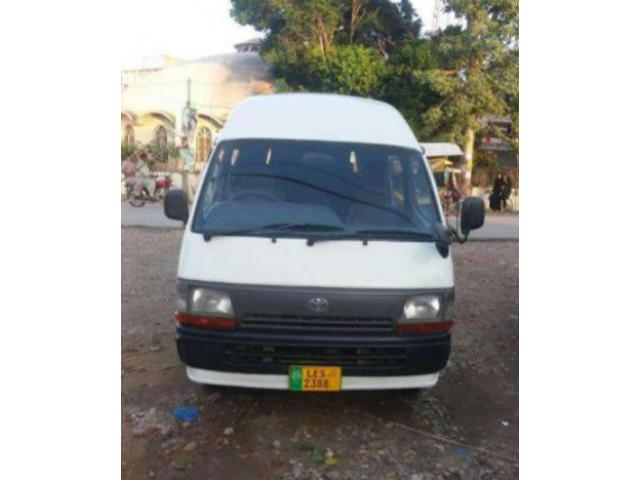 Toyota Hiroof Model 2007 White Color Chilled Ac New Tyre For Sale In Jhelum