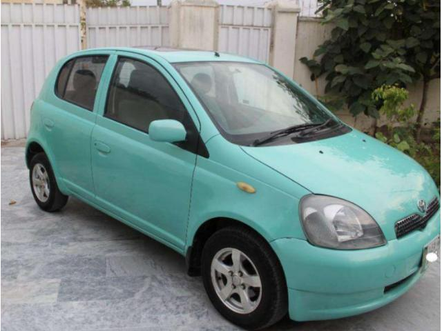 Toyota Vitz 2002 Automatic Sunroof Automatic Transmission