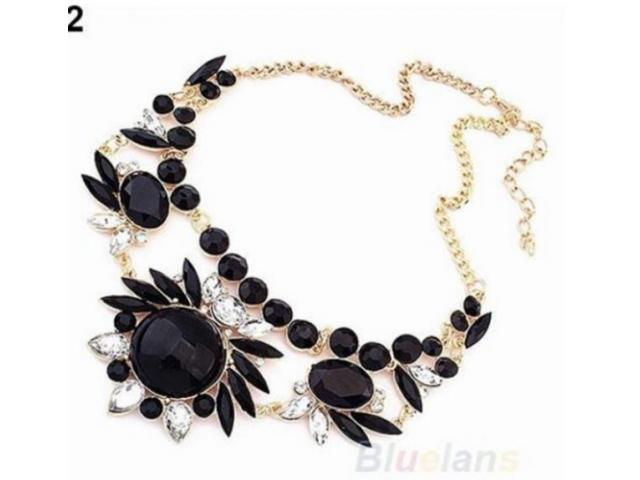 Beautiful Necklace With Black Pearls Get It Through Home Delivery