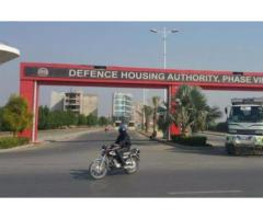 1 Kanal Plots In Sector W DHA Phase 8 Lahore Available For Sale -Lahore