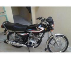 Honda 125 Original Spare Parts Black Color No Fault Model 2015 Sale In Lahore