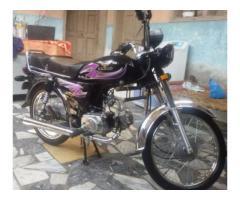 Zxmco Bike Like Cd 70 Model 2015 Awesome Petrol Average For Sale In Peshawar