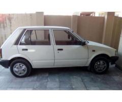 Daihatsu Charade Car In Good Condition Model 1986 White Color Sale in Rawalpindi
